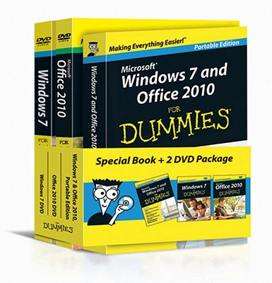 Windows 7 and Office 2010 for Dummies, Book + DVD Bundle By Rathbone, Andy/ Wang, Wallace
